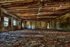 Edificio viejo abandonado Imagen de archivo libre de regalías
