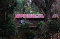 Edificio viejo, abandonado Imagen de archivo