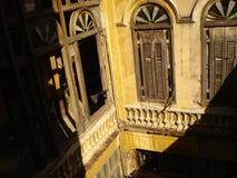 Edificio viejo cubano Imagen de archivo