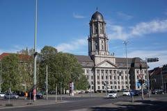 Edificio viejo de ayuntamiento en Berlín, Alemania imagen de archivo libre de regalías
