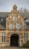 Edificio viejo de la abadía del parque cerca de Lovaina Imágenes de archivo libres de regalías