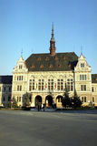 Edificio viejo de la configuración Imágenes de archivo libres de regalías