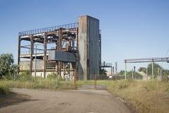 Edificio viejo de la fábrica Fotos de archivo
