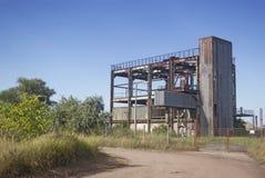 Edificio viejo de la fábrica Imagenes de archivo