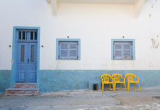 Edificio viejo de Santorini Fotos de archivo libres de regalías