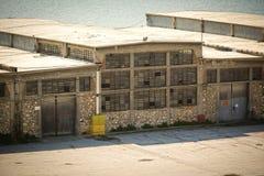 Edificio viejo del almacén Imagenes de archivo