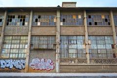 Edificio viejo del almacén Foto de archivo