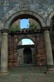 Edificio viejo del fantasma en la India foto de archivo libre de regalías