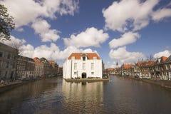 Edificio viejo del fortalecimiento Imagen de archivo libre de regalías