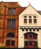 Edificio viejo del mercado Fotografía de archivo