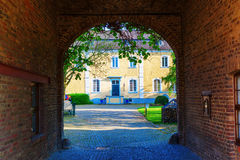 Edificio viejo en Bedburg-Kaster, Alemania Fotos de archivo libres de regalías