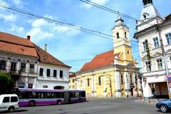 Edificio viejo en Cluj-Napoca, Transilvania Fotografía de archivo