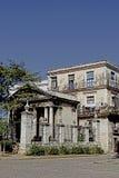 Edificio viejo en Cuba Imagenes de archivo
