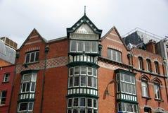 Edificio viejo en Dublín, Irlanda Imagen de archivo libre de regalías