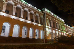 Edificio viejo en el bulevar de Rustaveli Imágenes de archivo libres de regalías