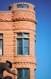 Edificio viejo en el sudoeste Foto de archivo