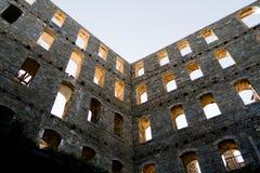 Edificio viejo en Halkidiki Foto de archivo