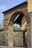 Edificio viejo en Italia Foto de archivo libre de regalías