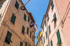 Edificio viejo en Italia Fotografía de archivo libre de regalías