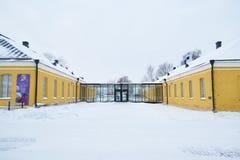 Edificio viejo en Lappeenranta, Finlandia Imagen de archivo libre de regalías