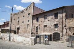Edificio viejo en Roma Imagen de archivo