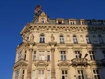 Edificio viejo en Varsovia Imágenes de archivo libres de regalías