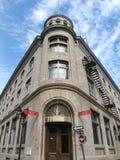 Edificio viejo Montreal de la ciudad Fotos de archivo
