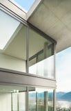 Edificio, visión desde la terraza Imagen de archivo libre de regalías