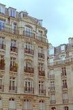 Edificio vivo tradicional, París Imagen de archivo