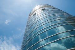 Edificio y cielo Imagen de archivo libre de regalías