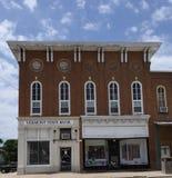 Edificio y teatro de la ópera de banco de Mershon Foto de archivo libre de regalías