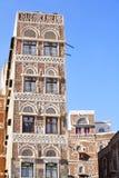 Edificio yemení viejo Foto de archivo libre de regalías