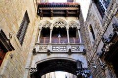 Edificiomodernista - Barcelona España royalty-vrije stock afbeeldingen