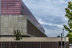 Edificiomoderno Royalty-vrije Stock Afbeelding
