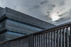 Edificiomoderno Royalty-vrije Stock Afbeeldingen