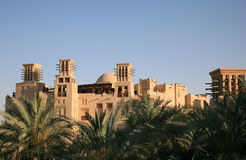 Edificios árabes del estilo Imagenes de archivo