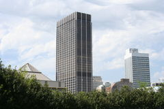 Edificios únicos de la ciudad Fotografía de archivo libre de regalías