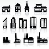 Edificios Fotografía de archivo libre de regalías