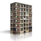 edificios 3D Fotos de archivo