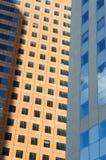 Edificios 8 de Défence del La Foto de archivo