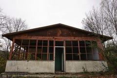 Edificios abandonados Fotos de archivo