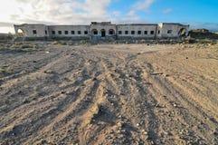 Edificios abandonados Foto de archivo libre de regalías