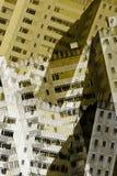 Edificios abstractos de la ciudad Fotografía de archivo libre de regalías