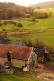 Edificios agrícolas A Fotografía de archivo libre de regalías