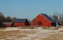 Edificios agrícolas imagen de archivo