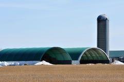 Edificios agrícolas Fotos de archivo libres de regalías