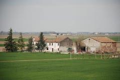 Edificios agrícolas en Véneto Imágenes de archivo libres de regalías