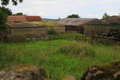 Edificios agrícolas viejos, North Yorkshire Fotografía de archivo libre de regalías