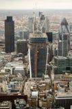 Edificios altos, ciudad de Londres Fotos de archivo libres de regalías