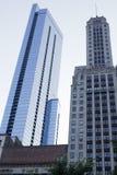 Edificios altos de Chicago Imágenes de archivo libres de regalías